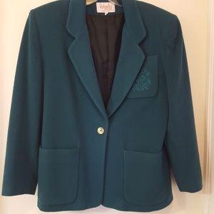 Rafaella Jackets & Coats - Vintage old school Rafaella wool blend blazer